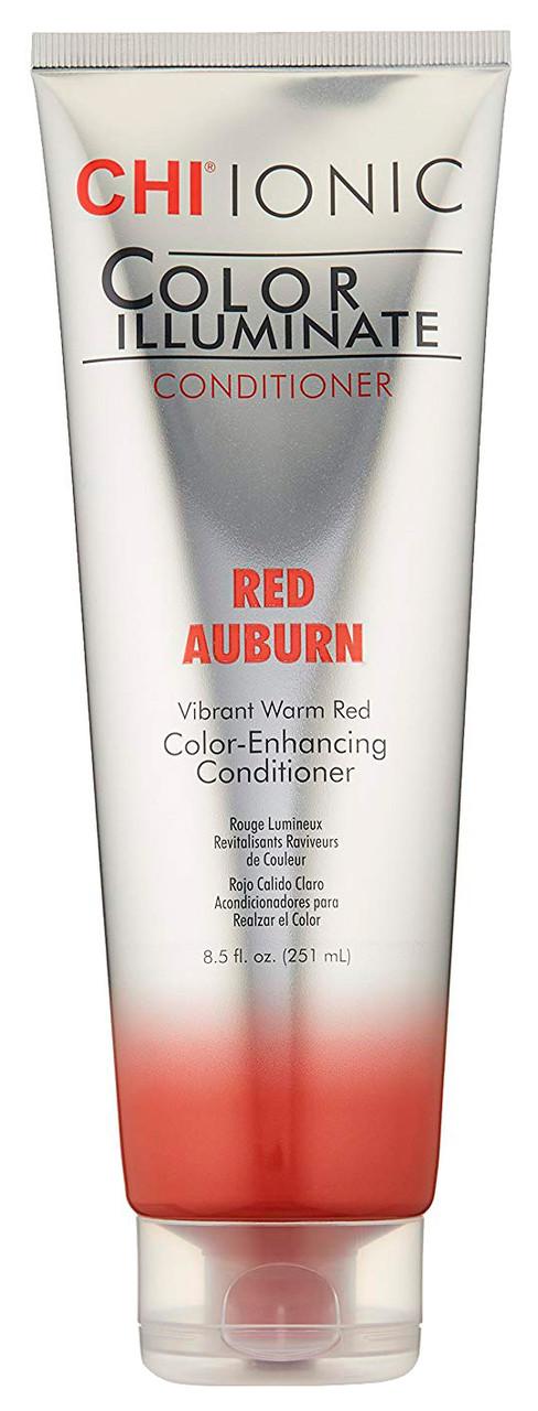 "Оттеночный кондиционер ""Красно-золотисто-каштан"" CHI lonic Color Illuminate Red Auburn 251 мл"