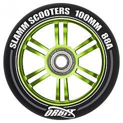 Slamm колесо Orbit green 100 мм
