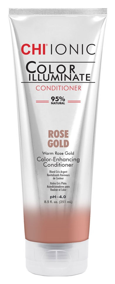 Оттеночный кондиционер CHI Ionic Color Illuminate Conditioner Rose Gold 251 мл