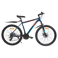 Велосипед з безкоштовною доставкою SPARK JACK 26-Al-19-AML-D Shimano (Синій з блакитним)