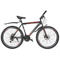 Велосипед з безкоштовною доставкою SPARK FORESTER 26-ST-20-ZV-D (Чорний з червоним)