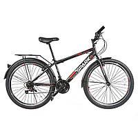 Велосипед з безкоштовною доставкою SPARK INTRUDER 26-ST-15-ZV-V (Чорний з червоним)