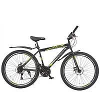 Велосипед с бесплатной доставкой SPARK FORESTER 26-ST-17-ZV-D (Черный с желтым)