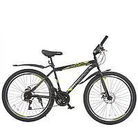 Велосипед з безкоштовною доставкою SPARK FORESTER 26-ST-17-ZV-D (Чорний з жовтим)