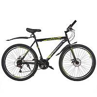 Велосипед з безкоштовною доставкою SPARK FORESTER 26-ST-20-ZV-D (Чорний з жовтим)