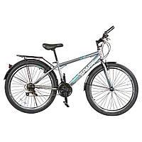 Велосипед с бесплатной доставкой SPARK INTRUDER 26-ST-15-ZV-V (Серый с голубым)