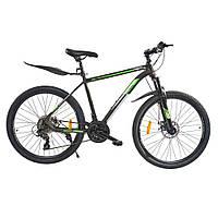 Велосипед з безкоштовною доставкою SPARK JACK 26-Al-19-AML-D Shimano (Сірий з зеленим)