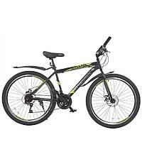 Велосипед с бесплатной доставкой SPARK FORESTER 26-ST-19-ZV-D (Черный с желтым)