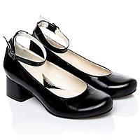 Туфли La Rose 2247 36(23,6 см) Черный лак