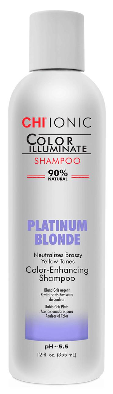 """Шампунь оттеночный """"Платиновый блондин"""" CHI Ionic Color Illuminate Shampoo Platinum Blonde"""