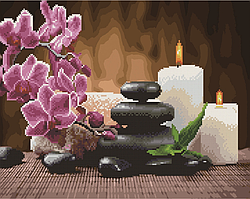 Алмазна мозаїка і картина за номерами Brushme Релакс і медитація BGZS1036 40х50см в коробці алмазна картина і