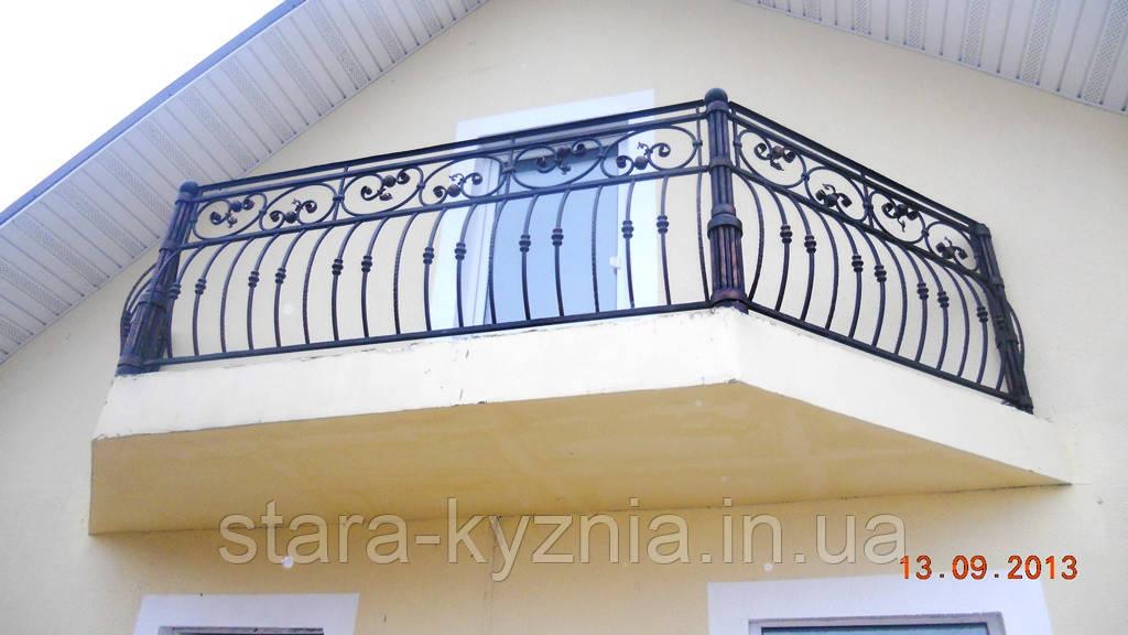 Кованый балкон для тирасы - Старая кузня в Полтавской области