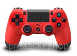Контроллер Playstation 4 Red PS4