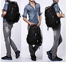 Міський рюкзак WENGER SwissGear 8810 чорний, репліка, фото 3