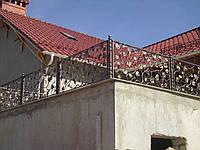 Кованый балкон (Веноград)