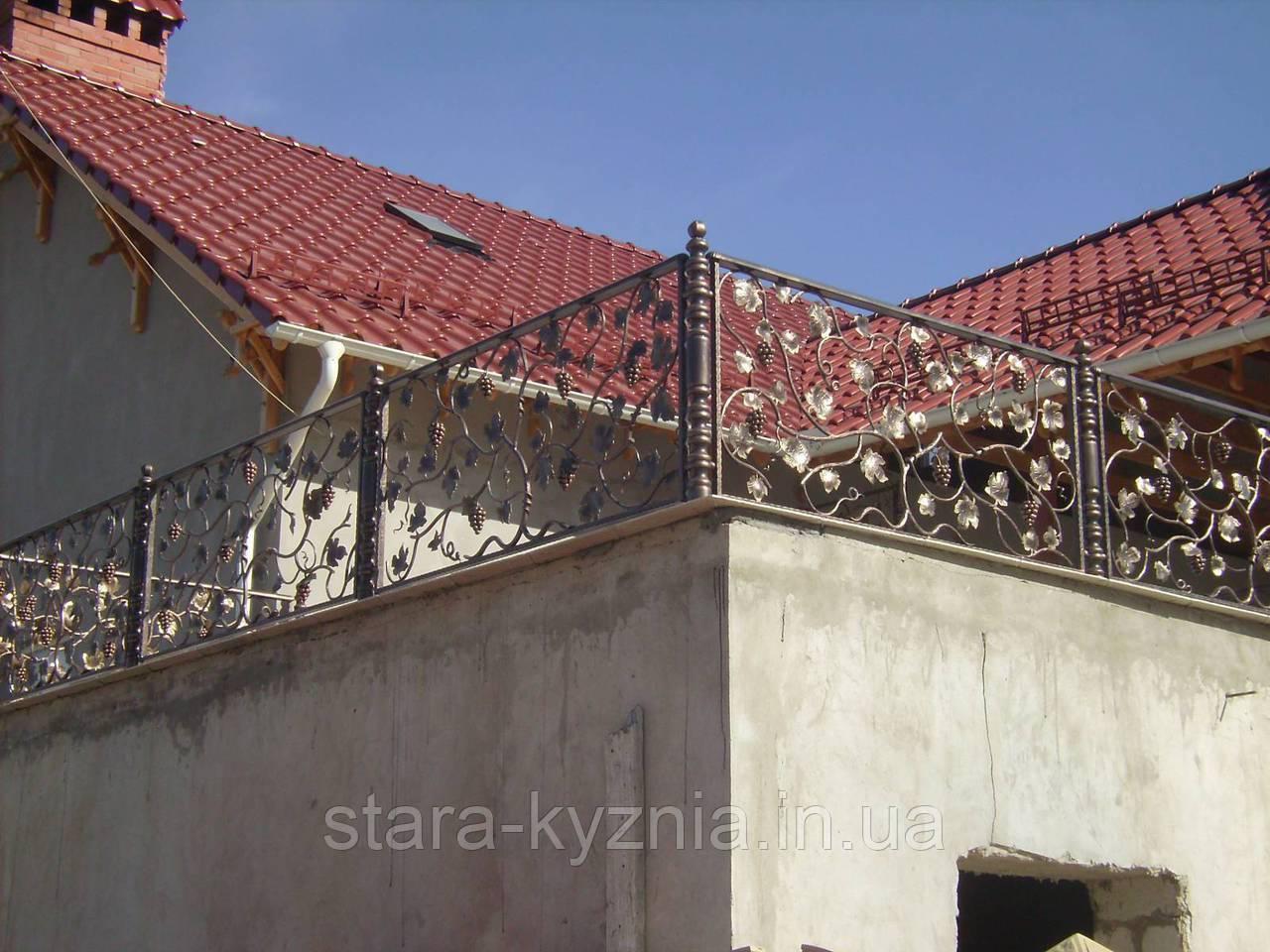 Кованый балкон (Веноград) - Старая кузня в Полтавской области