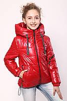 Куртка демісезонна для дівчинки «362», червоний