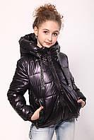 Куртка демісезонна для дівчинки «362», баклажан