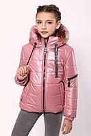 Куртка демісезонна для дівчинки «362», рожевий