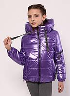 Куртка демісезонна для дівчинки «362», бузковий