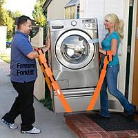 Ремни для грузчиков  360 кг, ремни для переноски мебели, габаритных грузов, фото 1