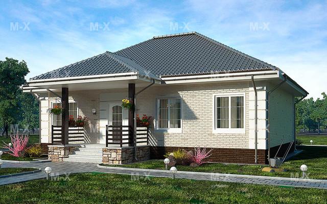 Проекты одноэтажных домов .