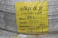 Кабель провод ППВ 3Х1.5 Elka & P (Хмельницкий)
