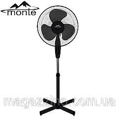 Напольный вентилятор Monte MT-1009B, 45Вт., Черный