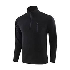 Тактична кофта/куртка фліс Lesko A973 2XL Black КОД: 5133-18451