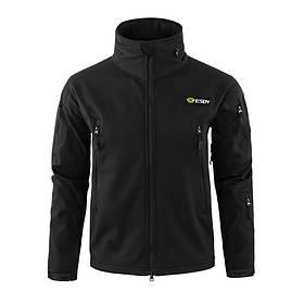 Тактична куртка № 2 Lesko A012 XL Black КОД: 5127-18476