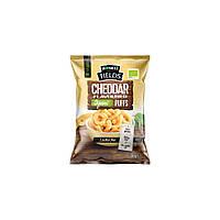 Снек кукурудзяний зі смаком сиру чеддер органічний Honest Fields,упаковка 10шт. х30 р