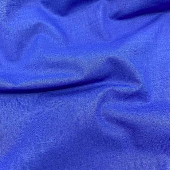 Польская хлопковая ткань синего цвета 160 см