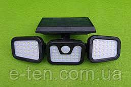 Уличный светодиодный настенный светильник Split Solar Wall Lamp модель NF-866 / 74 LED на солнечной батарее