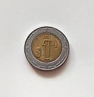 Мексика 1 песо 2001 р., фото 1
