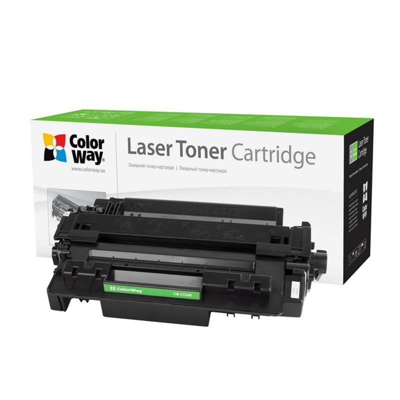 Лазерний картридж Картридж CW (CW-C724M) Canon LBP 6700/6750/6780/HP LJ P3015/LJP M521/M525 Black (Аналог