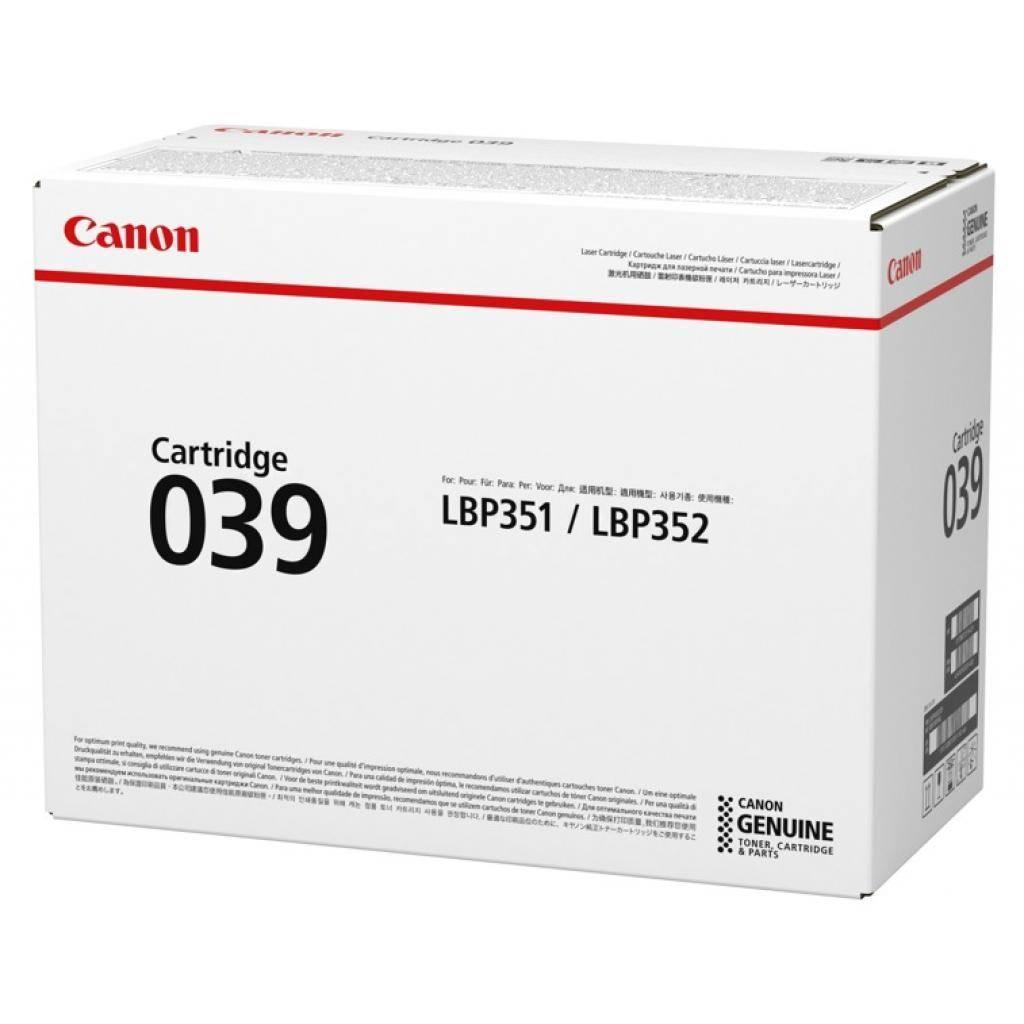 Лазерний картридж CANON для LBP352x,351 x (11000 копій) Cartridge 039 (0287C001)