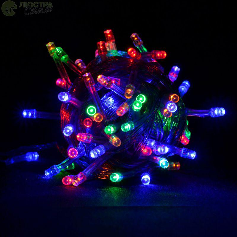 Гірлянда 300 led RG/RB color led 2-ох кольорів (мідний провід)