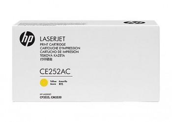 Лазерний картридж HP CLJ CE252AC Yellow