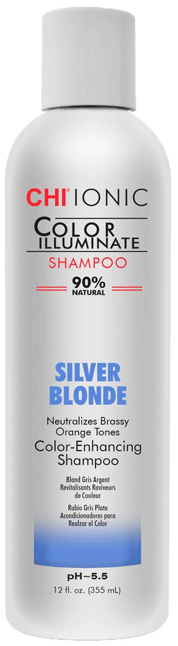 "Шампунь оттеночный ""Серебристый блондин"" CHI Ionic Color Illuminate Shampoo Silver Blonde"