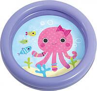 """Надувний басейн intex - """"Веселі рибки"""" 61х15см. (59409)"""