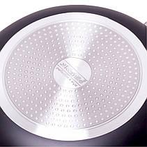 Сковорідка Kamille O30 см індукція з антипригарним покриттям штампований алюміній для індукції, фото 3