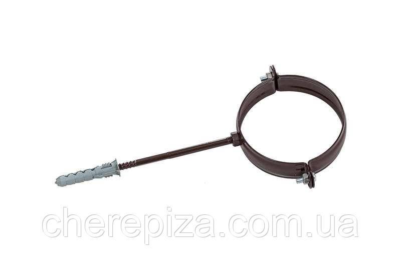 Держак труби Profil метал. L100 130 коричневий