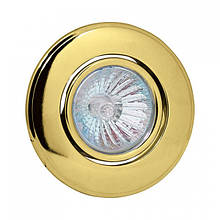 Светильник галогенный ORKIDE золотой