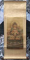 Свиток/гобелен Будда Амитабха (87х41 см.)
