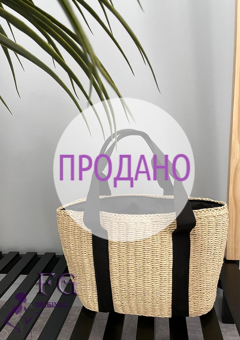 """Соломенная сумка-корзинка """"Samira"""""""