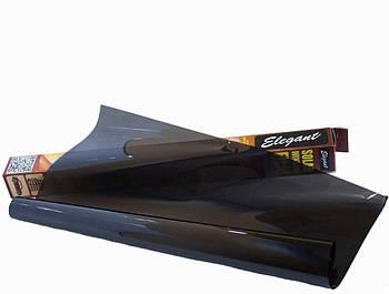 Тонувальна плівка Elegant SRC Dark Black 10% антицарапка 0.5x3 м (500251)