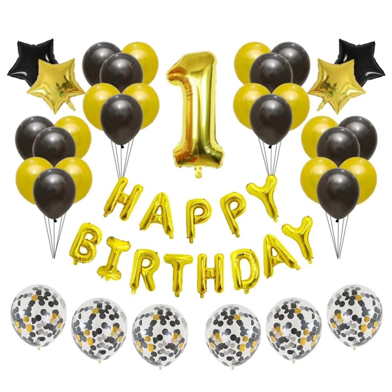 Набор шаров на День Рождения 060