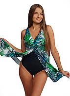 9017-1 Swimdress Слитный купальник - платье Tropik
