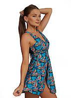 9017-4 Swimdress Слитный купальник - платье Папороть