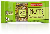 Батончик зерновой Nutrend De-Nuts 35g фисташки + подсолнечник